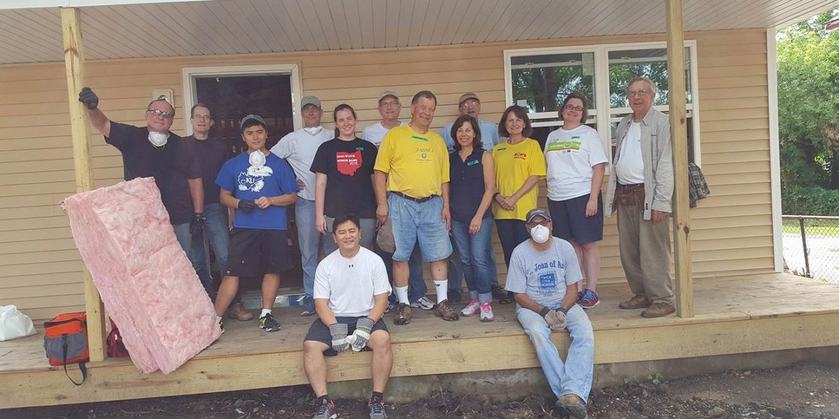 Habitat for Humanity – August 20, 2016